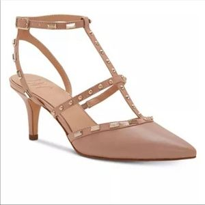 INC Karma Kitten Heels - Blush SIZE 7